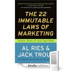 Notes on the 22 Immutable laws of marketing