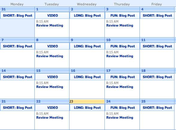 Marketing Planning: How To Create An Editorial Calendar