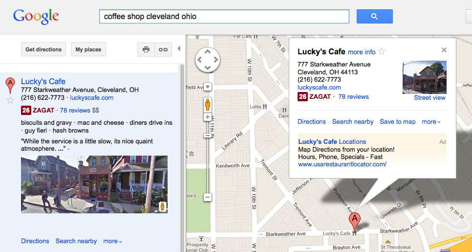 Local Search Listings