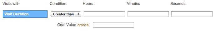 Visit Duration Goal Type