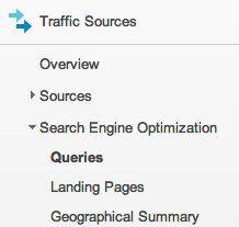 Google Webmaster Tools in Analytics
