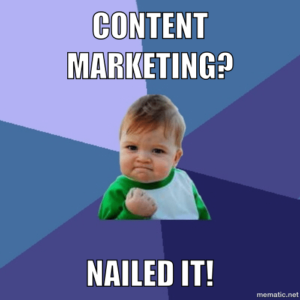 content marketing nailed it