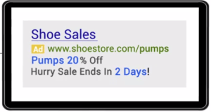 Google Ad Customizer Countdown Function