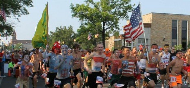 North Canton YMCA July 4th Race