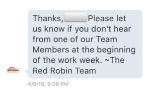 Red Robin DM