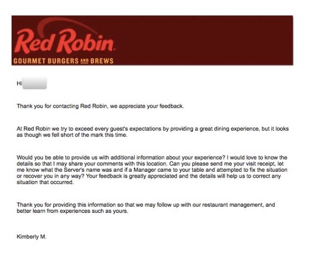 Red Robin Reponse Team