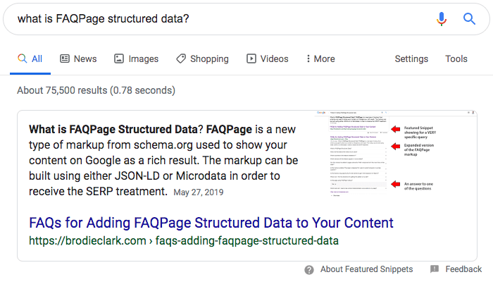 FAQsStructuredData