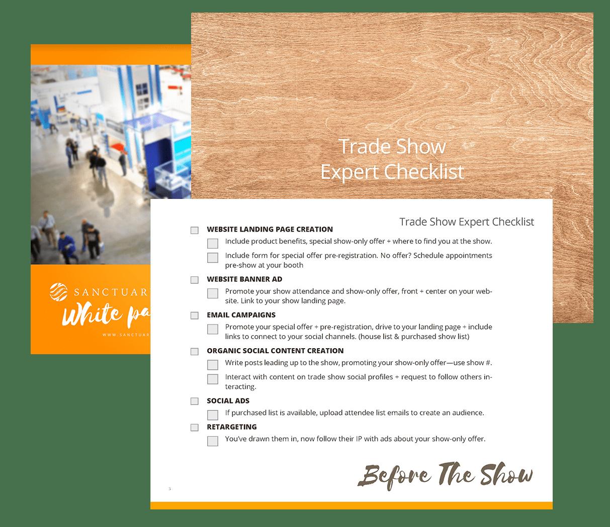 Checklist and Whitepaper - Tradeshow