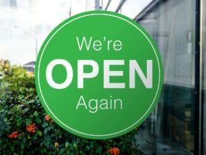 We're Open Again