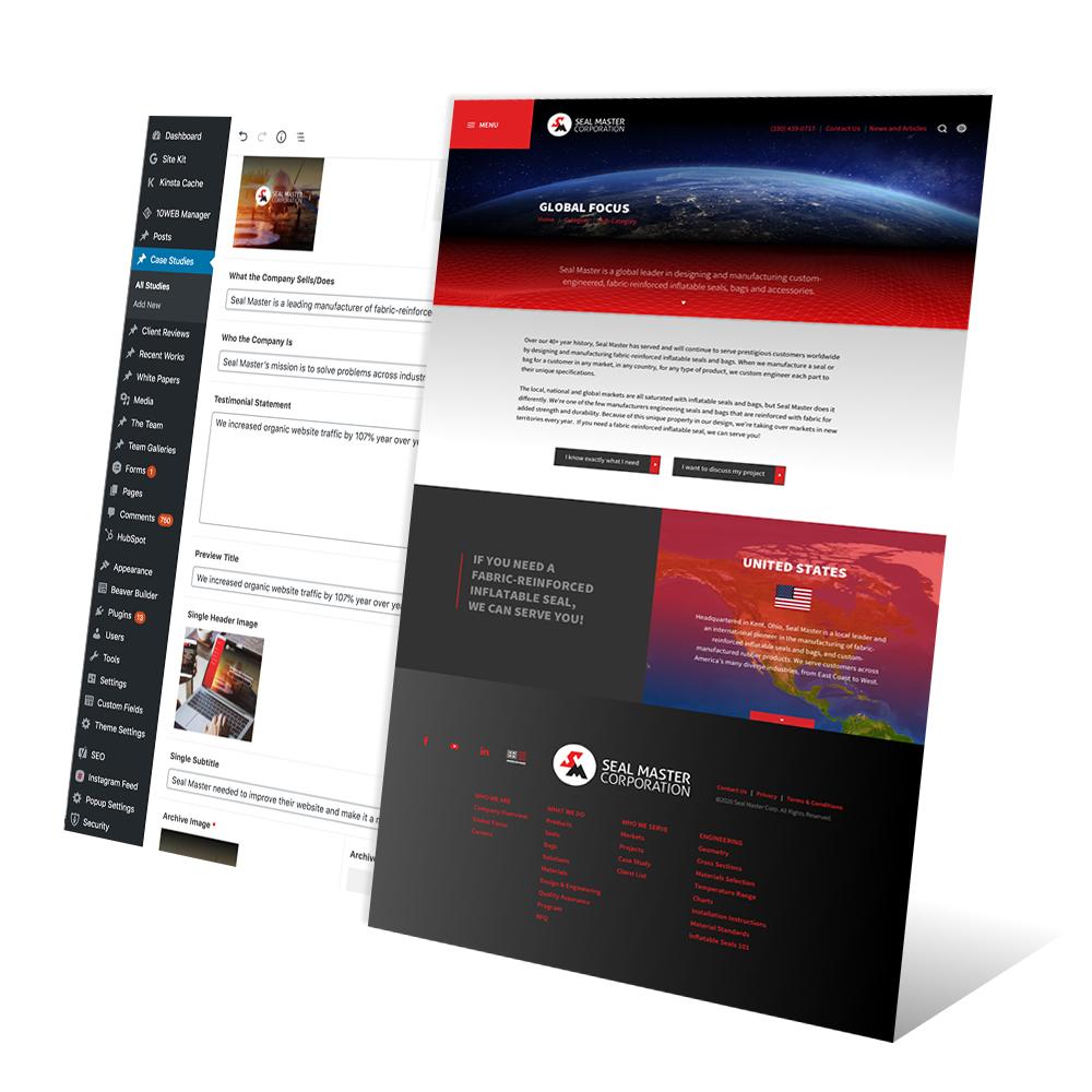 Seal Master Website SEO