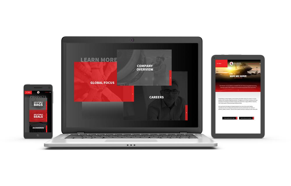 Seal Master Website 3 Views