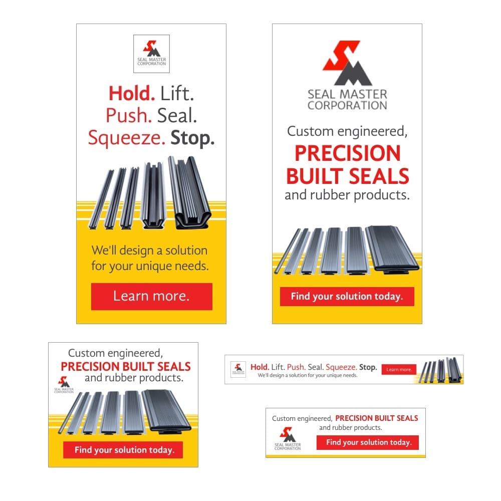 Seal Master Ad Campaign
