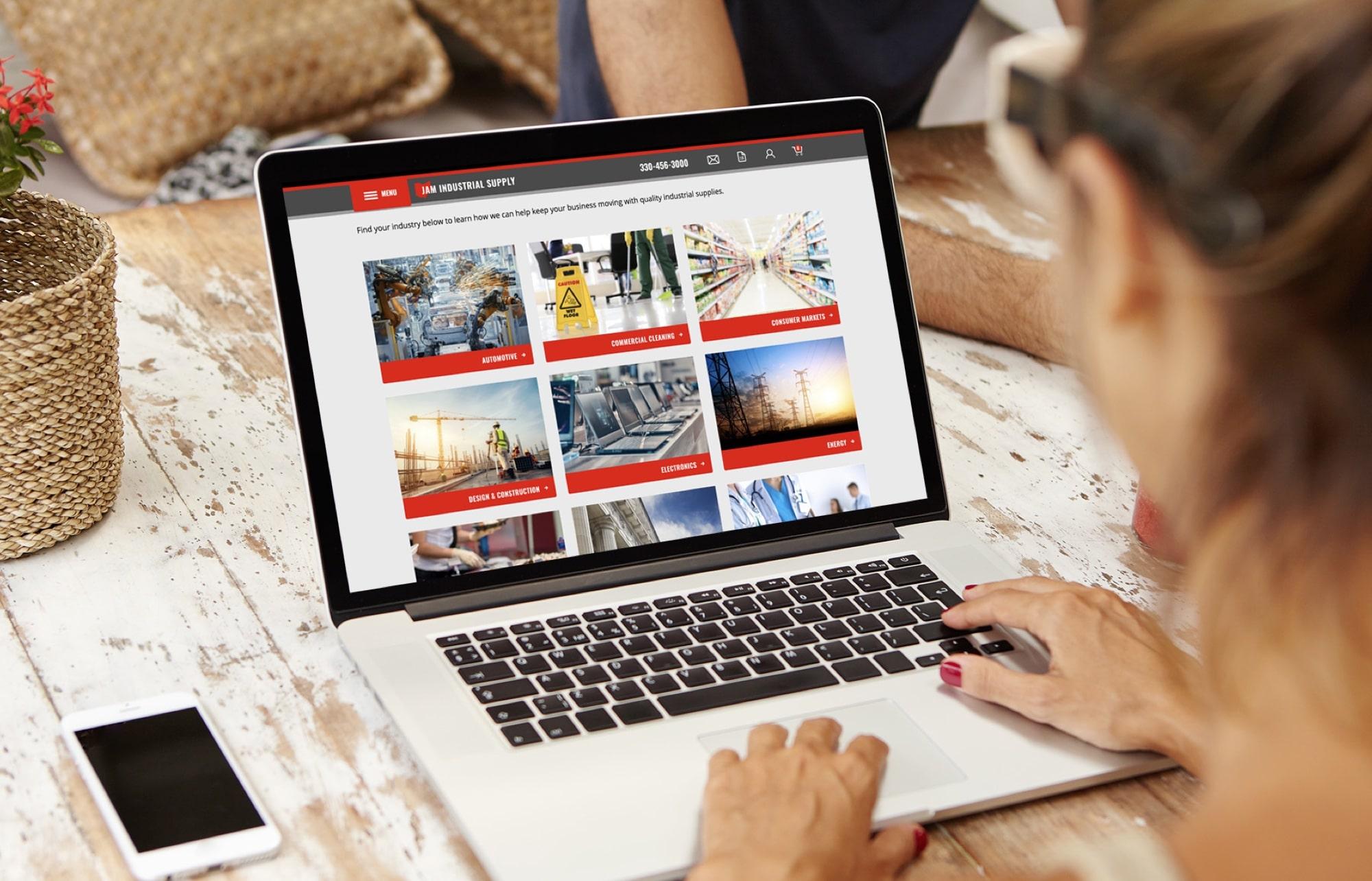JAM-Industrial-Ecommerce-Desktop-Design-1