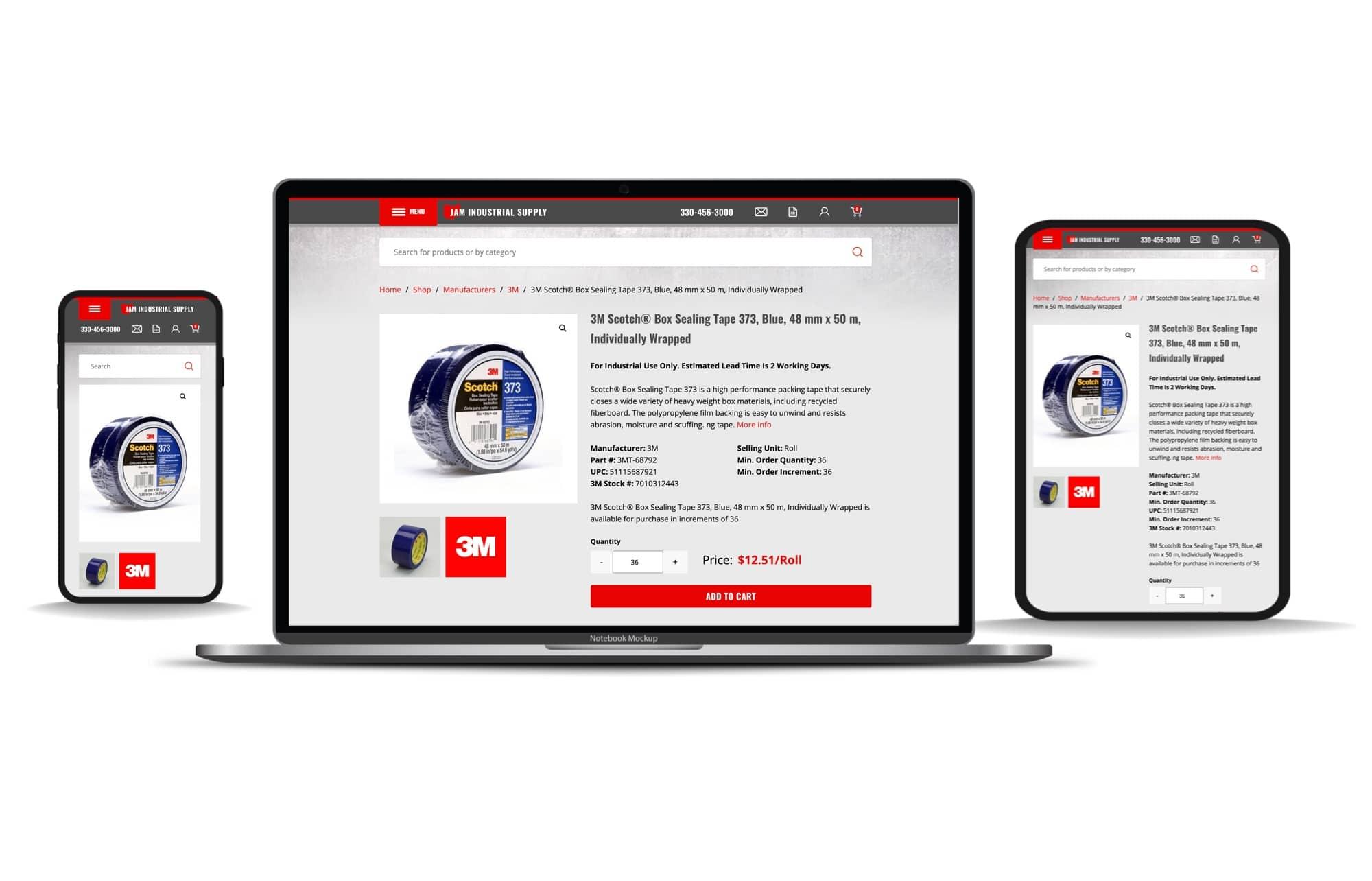 JAM-Industrial-Ecommerce-Website-Desktop-Tablet-Mobile